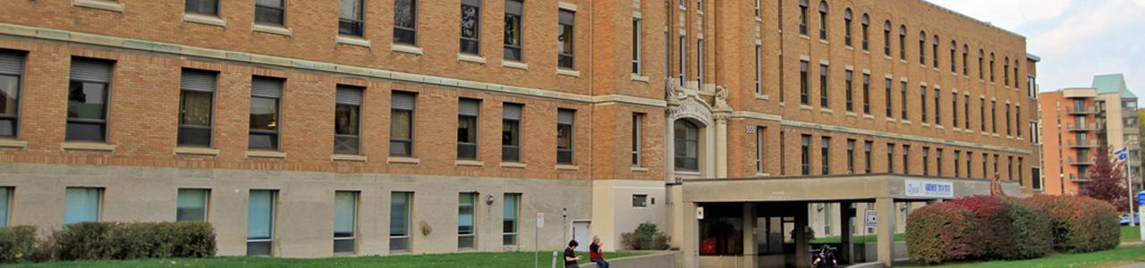 Centre d'Hébergement Notre-Dame-de-la-Merci - Header